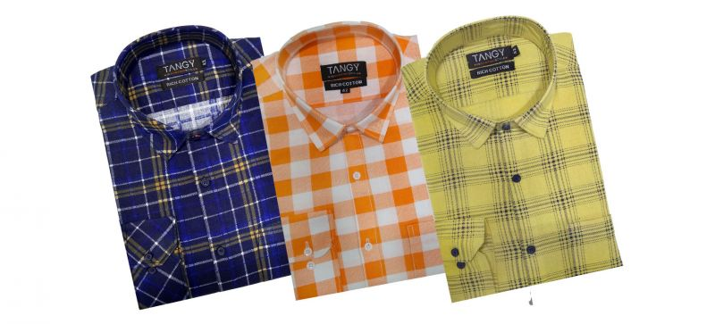Buy Pack Of 3 Formal Shirts online
