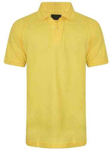 Buy Tangy Mens Yellow Polo T-Shirt online