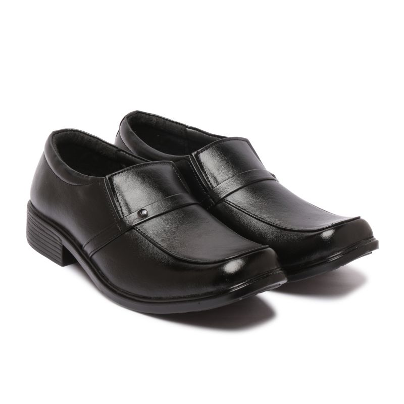 Buy Menz Black Slip On Formal Shoes online