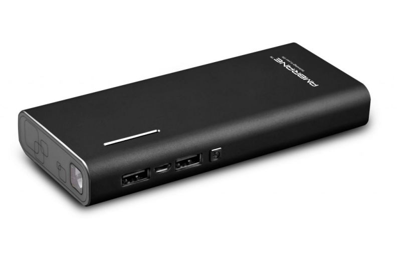 Buy Ambrane P-1313 13000mah Power Bank - Black online