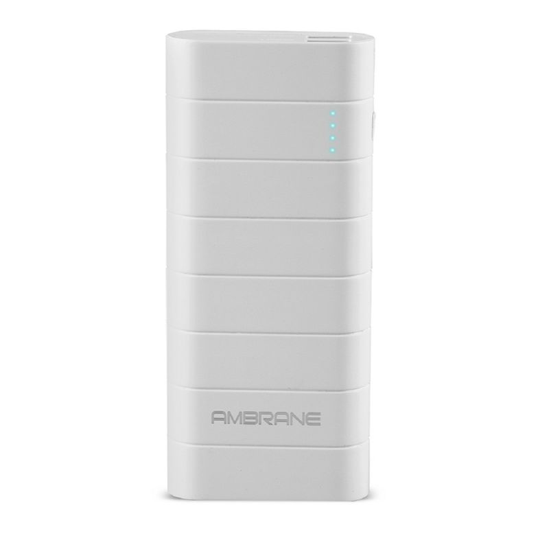 Buy Ambrane Speedy S5 12500mah Power Bank - White online