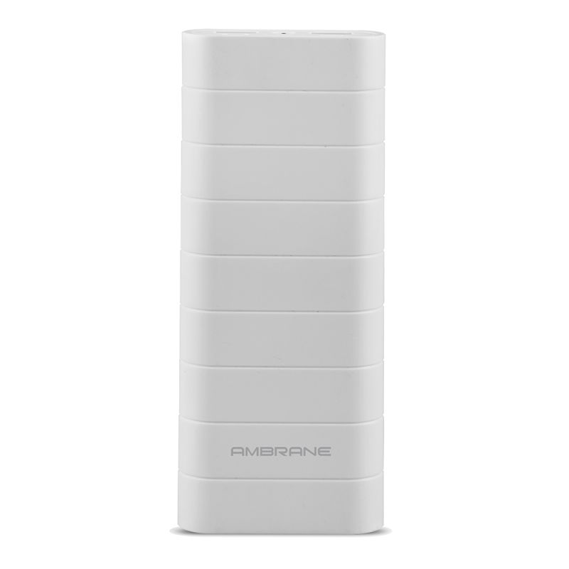 Buy Ambrane Speedy S6 15000mah Power Bank - White online