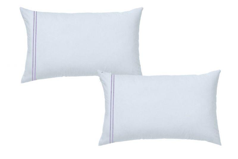 Buy Sferra Pillow Case - King Size100% Egyptian Cotton White Lilac online