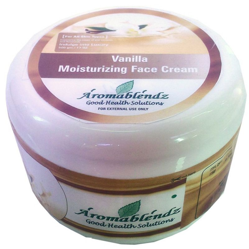 Buy Aromablendz Vanilla Face Cream 500gm online