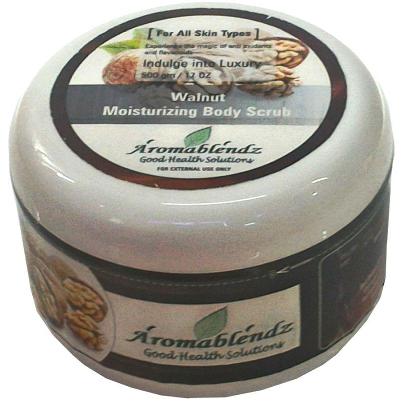 Buy Aromablendz Walnut Body Scrub Polishing Scrub 500gm online