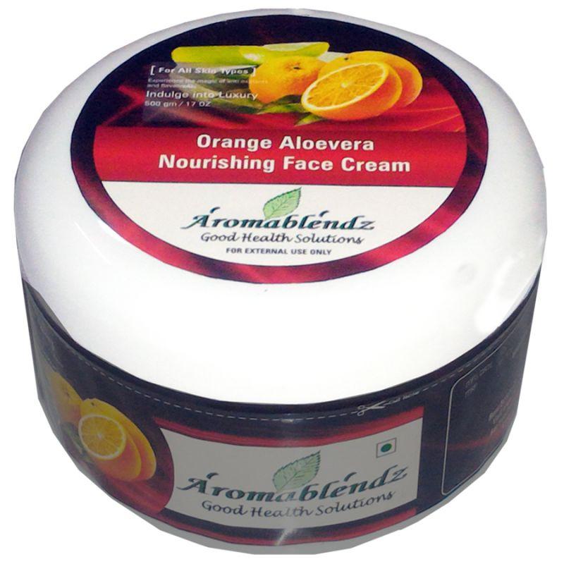 Buy Aromablendz Orange & Aloevera Face Cream 500gm online