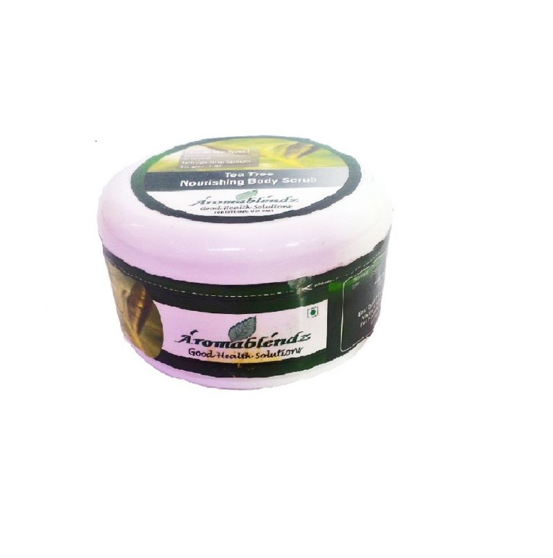 Buy Aromablendz Tea Tree Body Scrub 150gm online
