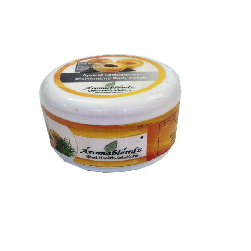 Buy Aromablendz Apricot Lemongrass Body Polishing Scrub 150gm online