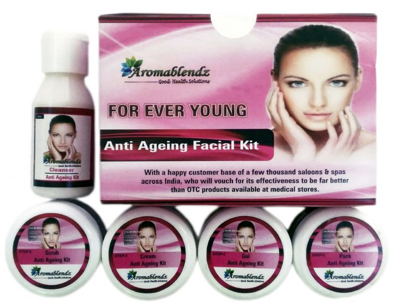 Buy Aromablendz Face Care Kit For Anti Ageing online