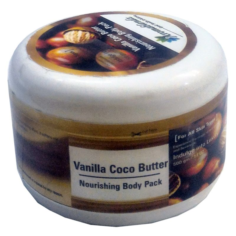 Buy Aromablendz Vanilla Coco Butter Body Pack 500gms online