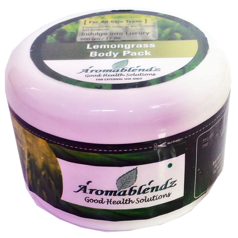 Buy Aromablendz Lemongrass Body Pack 500gms online