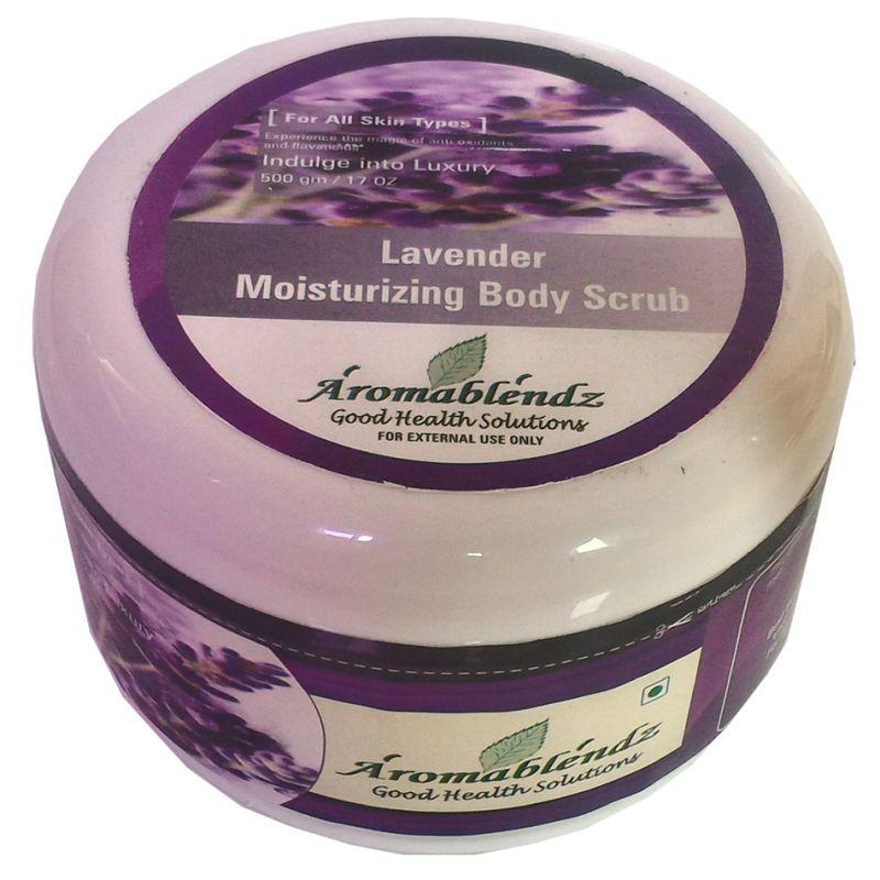Buy Aromablendz Lavender Body Polishing Scrub 500gm online