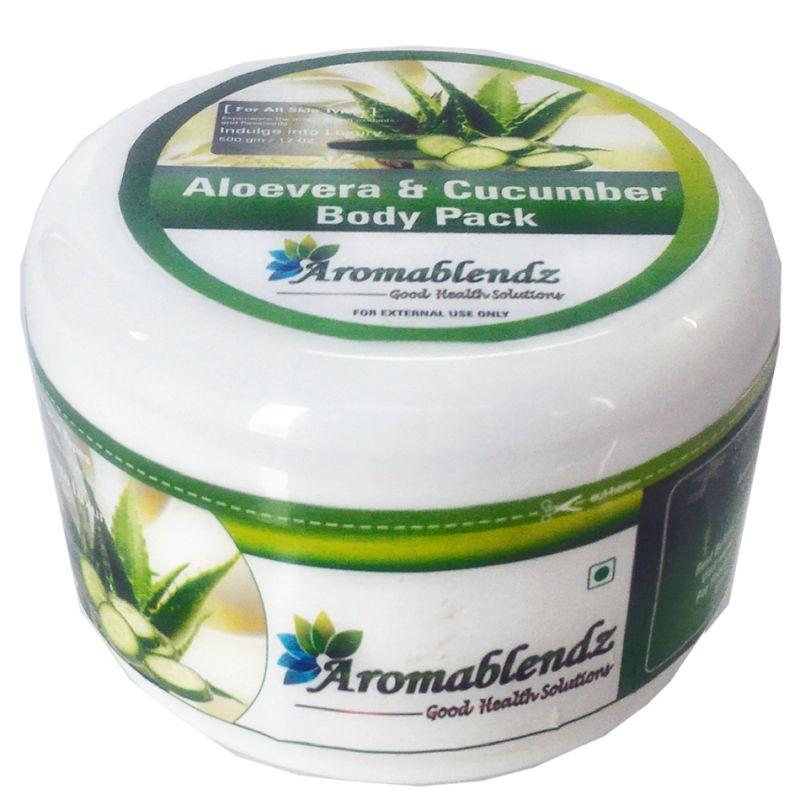 Buy Aromablendz Aloevera Cucumber Body Pack 500gms online