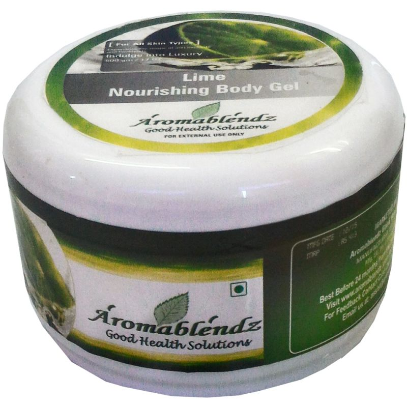 Buy Aromablendz Lime Body Massage Gel 500gm online