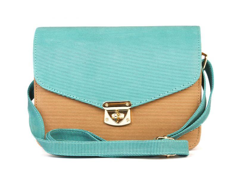 Buy Rysha Tan Green Pu Solid Crossbody Sling Bag For Womens Online