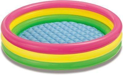 Buy Intex Sunset Glow 3 Feet Inflatable Pool online