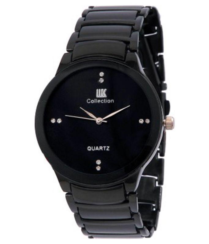 Buy Iik Collection Black Analog Watch online