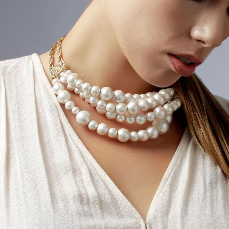Buy Sukkhi Ritzy Bollywood Inspired Pearl Necklace For Women online