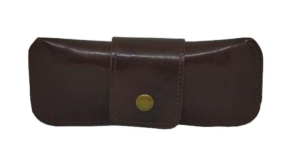 Buy JL collections Unisex Brown Leather Spectacle Case online