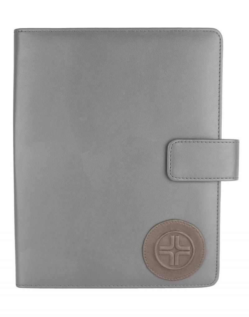 Buy Jl Collections Men's & Women's Leather Grey I Pad Holder online