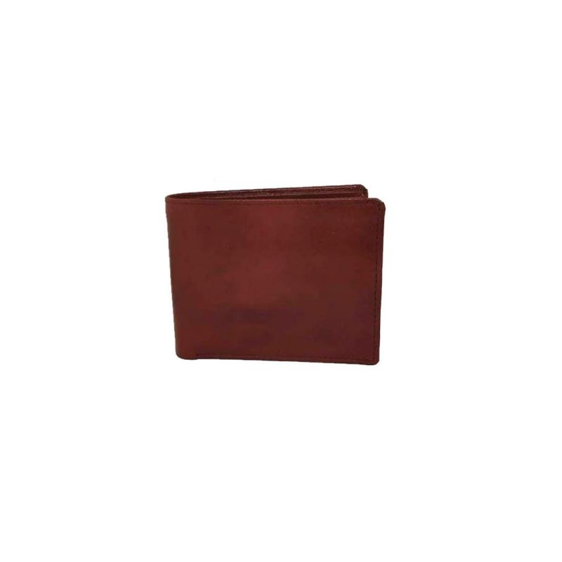 Buy JL Collections Men's Brown Genuine Leather Wallet with Removable Card Holder online
