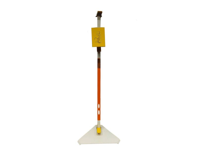 Buy Jl Collections Yellow And Off White Foot Operated Sanitizer Stand ( Code - Jl_sanitizer_stand ) online