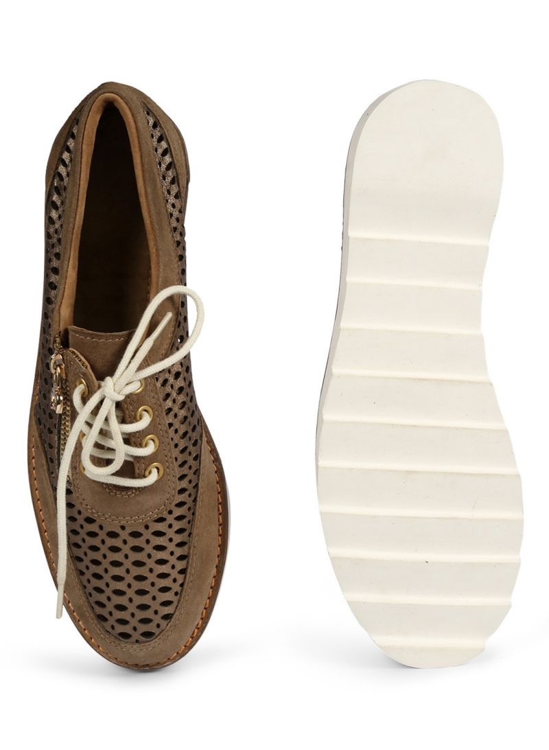 Buy JL Collections Brown Women's Shoe online