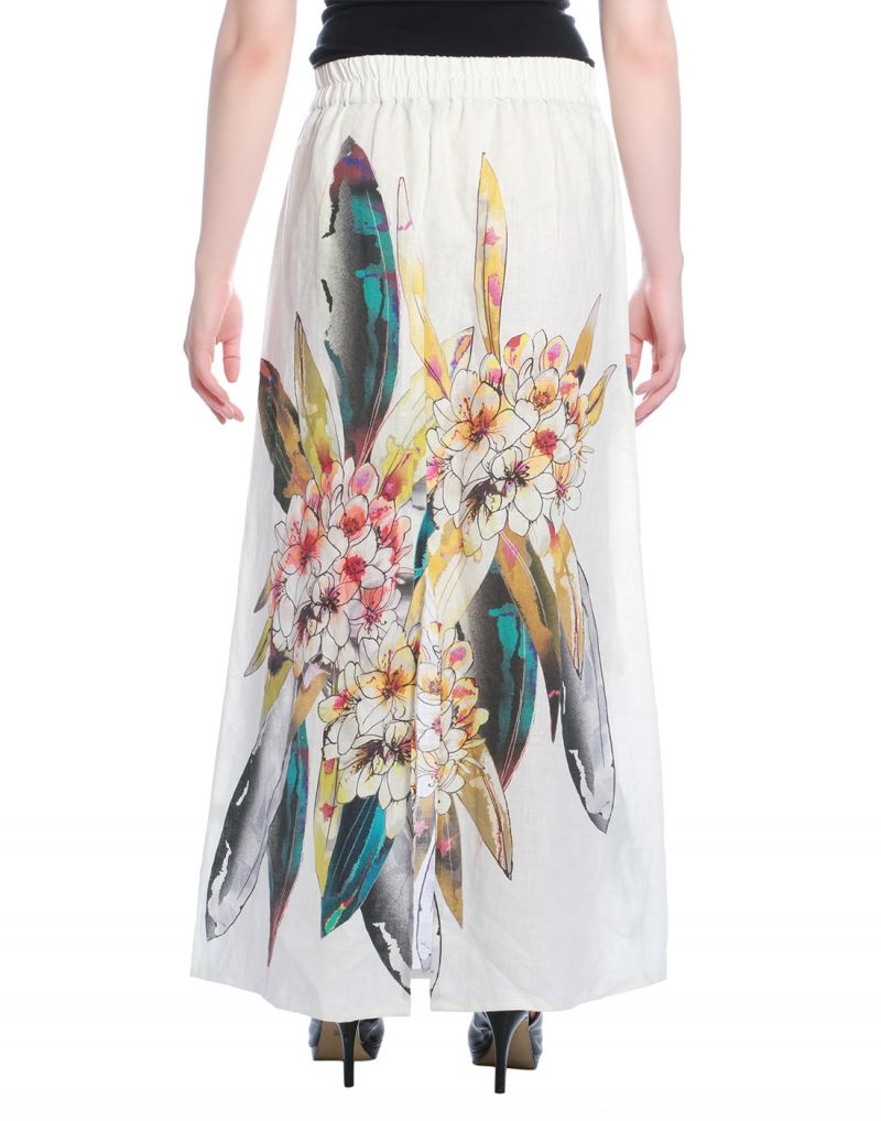 3f4895877 White Long Skirt Online India