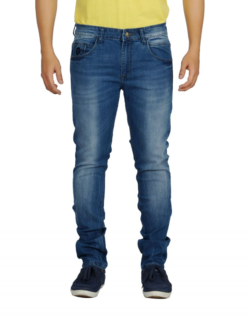 Buy Eupli Denim Faded Light Blue Men's Jeans online