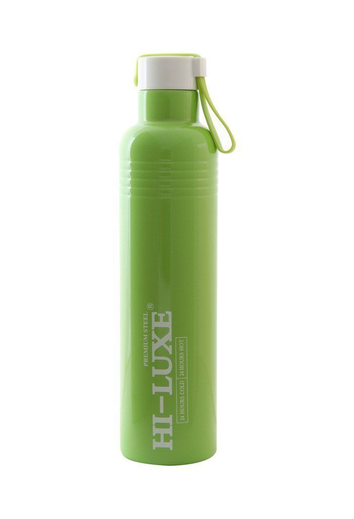Buy Hi Luxe Thermo Steel Premium Steel 750 Ml Vaccum Flask Bottle - Cruiser Green online