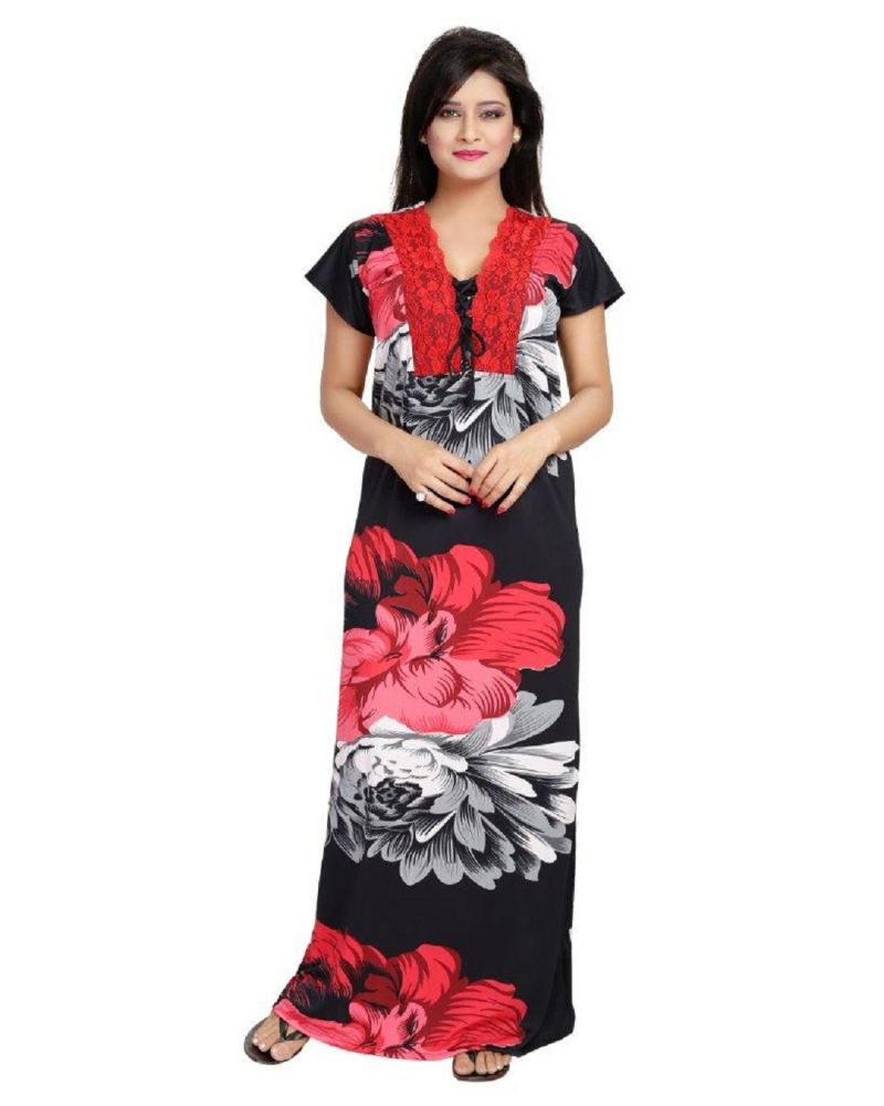 Buy Diljeet Satin NightGown online