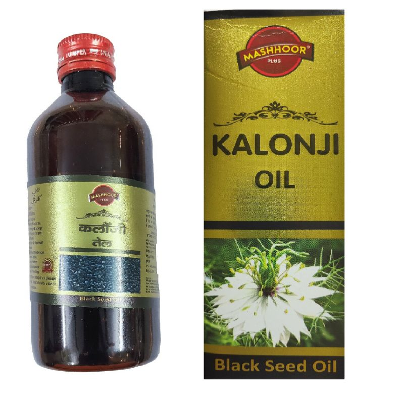 Buy Mashhoor Kalonji (black Seed) Hair Oil 200 Ml online
