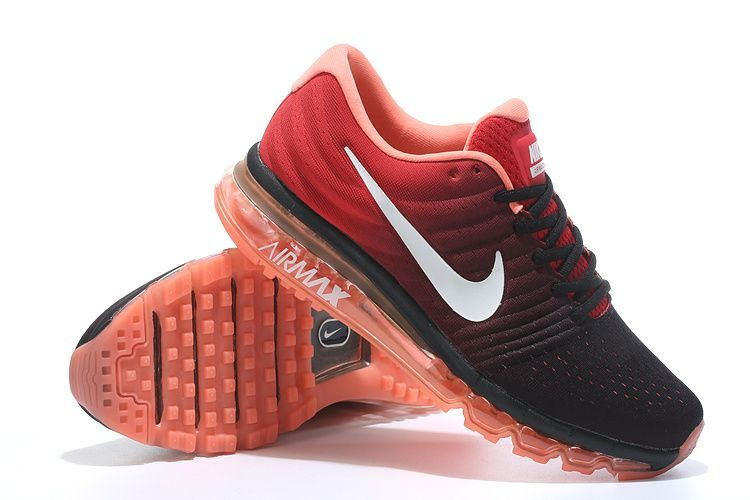Buy Imported Nike Airmax 2017 Red Men's Sports Shoes online
