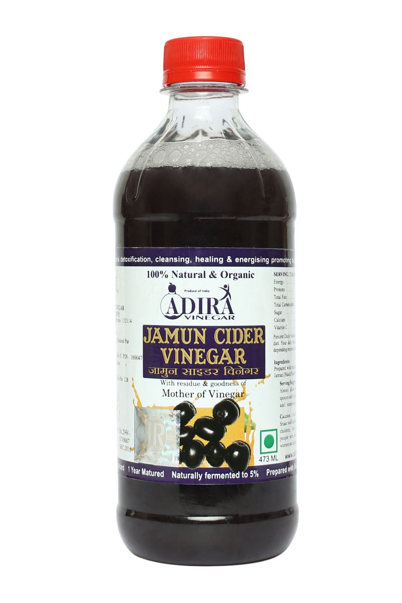 Buy Adira Jamun Cider Vinegar 473 Ml Online Best Prices In India New Arrival Bragg Apple
