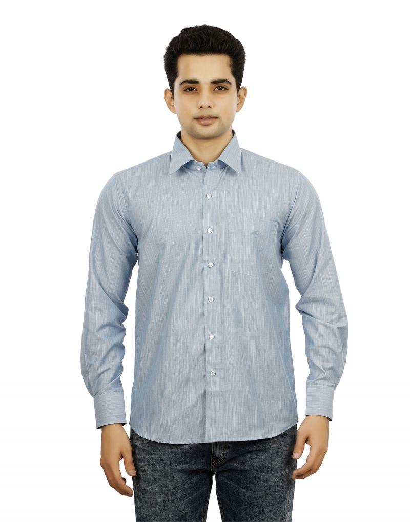 Buy Mens Cotton Formal Regular Fit Shirts - 3s0034 online