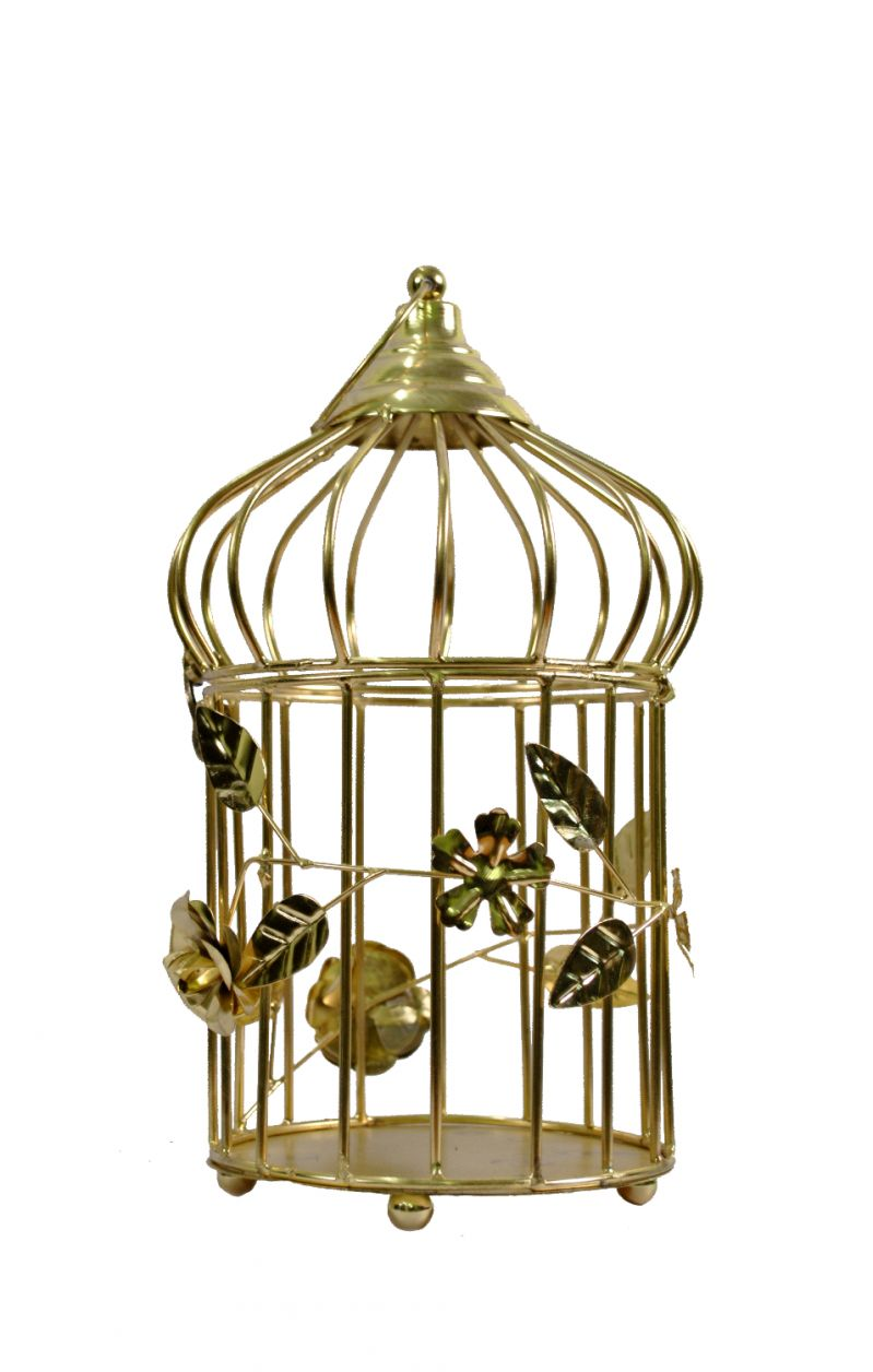 Buy Metal Bird Cage Decoration Decorative Cages Window Hanging Cage Metal Wedding Birdcage Home Decoration online