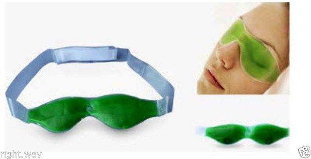 Buy Czar Aloe Vera Eye Cool Mask Eyes Stress Itching Relief Massage Cold Therapy online