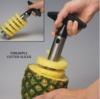 Buy Millennium Easy Stainless Steel Heavy Duty Ultimate Pineapple Cutter Corer Peeler Slicer online