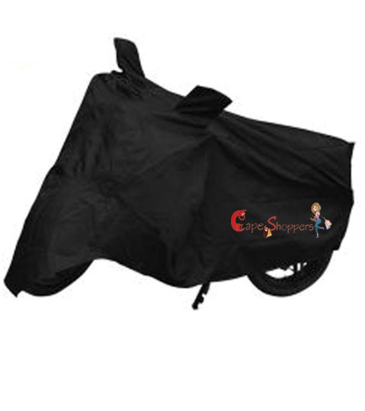 Buy Capeshoppers New Advance Bike Body Cover Black For Honda Activa Scooty online