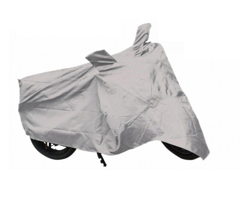 Buy Bike Body Cover For Tvs Scooty Zest Super Xl Motorcyle Body Cover Silver online