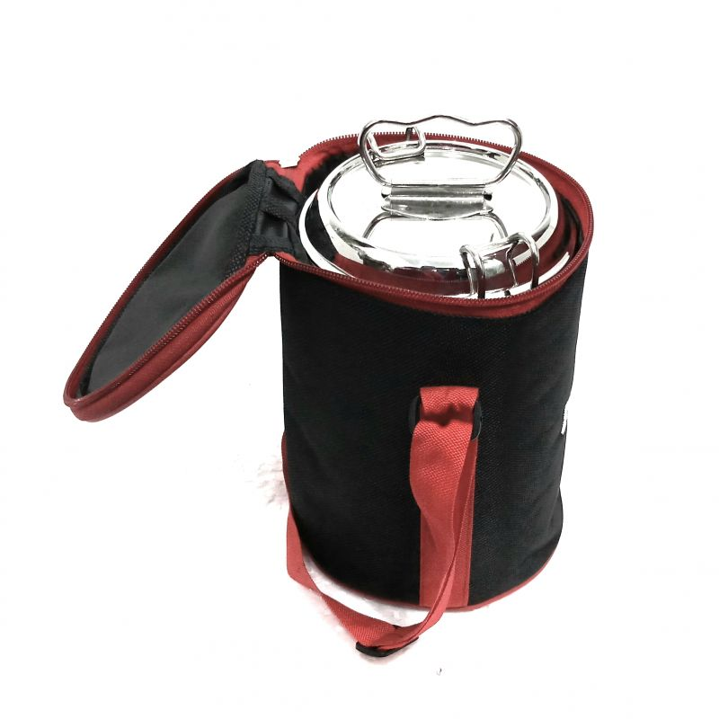 Buy Graminheet Stainless Steel Double Wall Lunch Box 1350ml online
