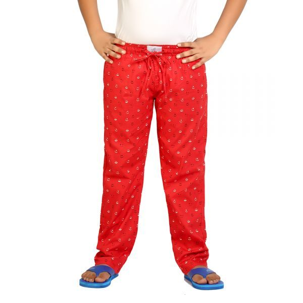 Buy Kick Start Boy's Cotton Smily Print Pyjama Ksp0008 online