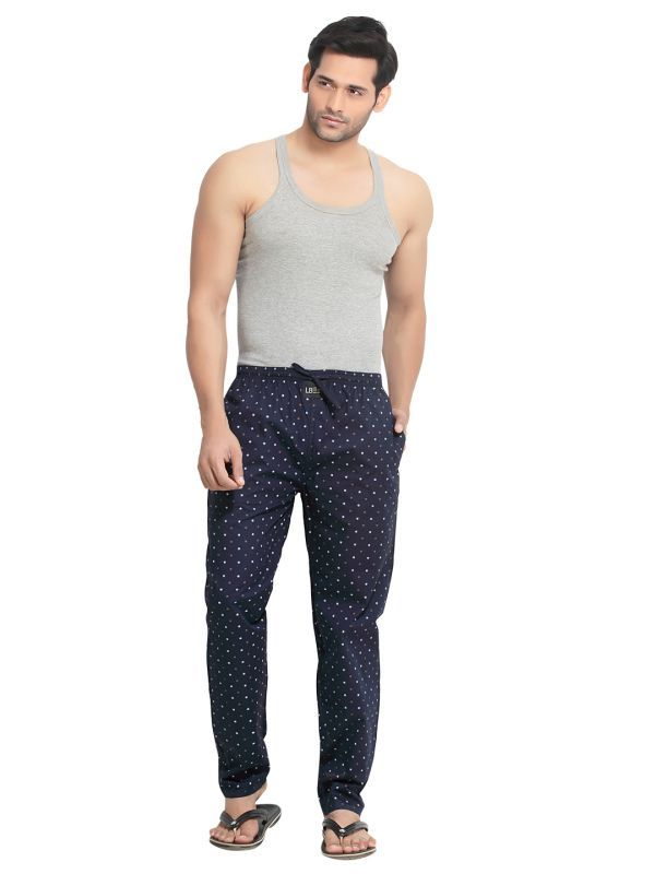 Buy London Bee Men's Cotton Wheel Print Pyjama/ Lounge Pant (product Code - Mplb0046) online