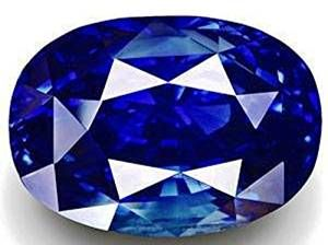 Buy Natural Blue Sapphire 4.25 Carat Original Certified Gemstone By Ratna Gemstone online
