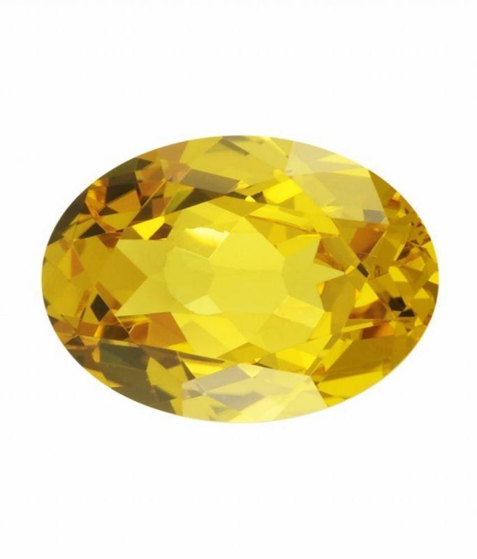Buy Aj 7.25 Ratti Yellow Sapphire Pukhraj Stone online