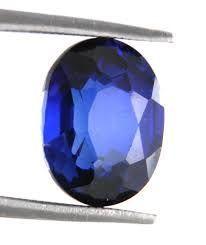 Buy Sobhagya 4.25 Ratti Khooni Neelam Blue Sapphire Stone online