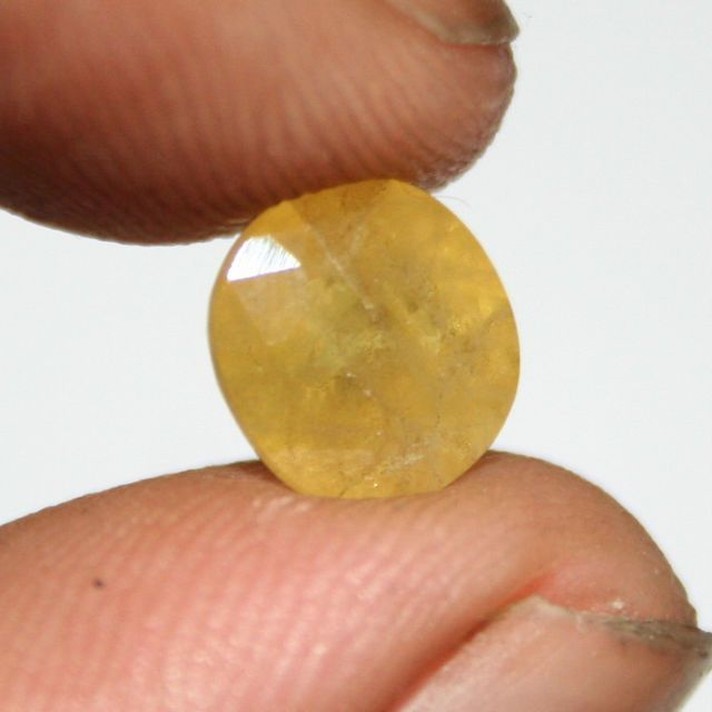 Buy Sobhagya Pukhraj Raashi Ratna Certified 6.50 Ratti Original Stone online