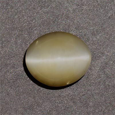 Buy Rasav Gems 5.20ctw 11.9x10x6.4mm Oval Gray Cats Eye Chrysoberyl Translucent Surface Clean Aaa online
