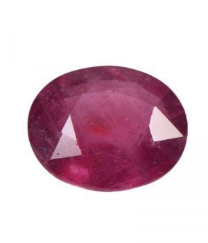 Buy Ruchiworld 6.06 Ct Certified Natural Ruby Loose Gemstone online