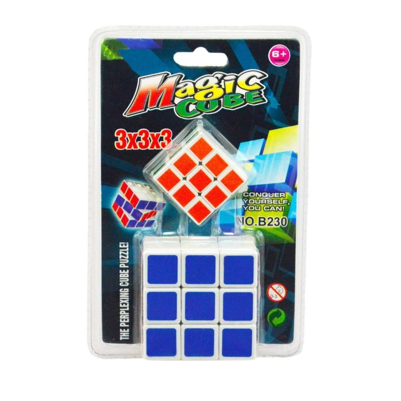 Buy 2 In 1 Magic Cube 3x3x3 Sticker Less Rubik online